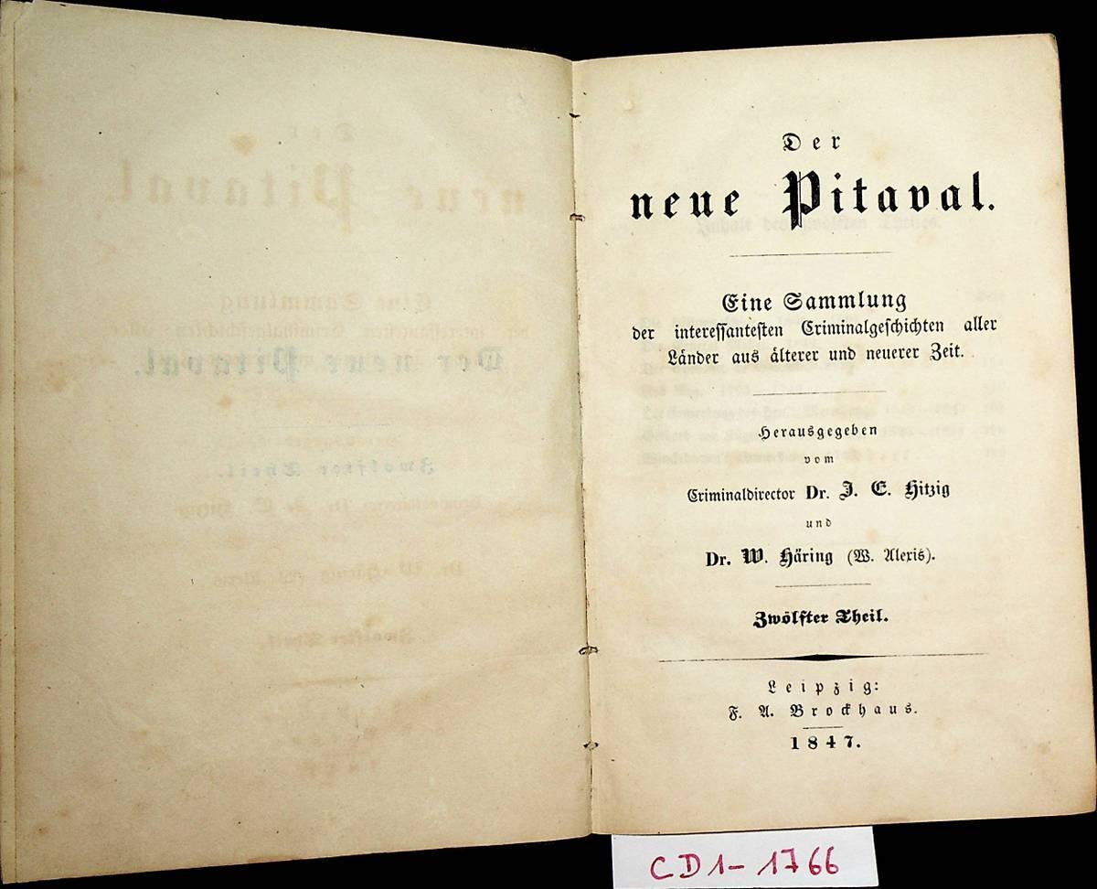 Der neue Pitaval : eine Sammlung der: Hitzig, Julius Eduard