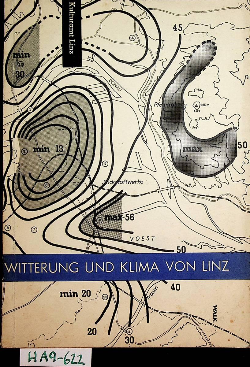Witterung und Klima von Linz: Lauscher, Friedrich u.a.: