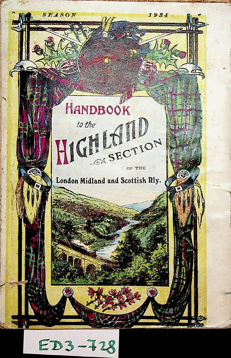 Handbook to the Highland section of the London Midland and ...