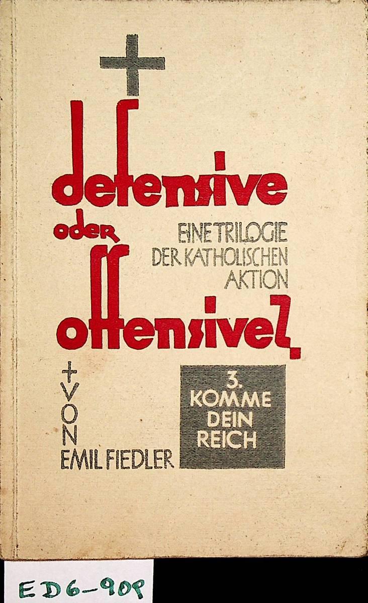 defensive oder offensive von fiedler - ZVAB