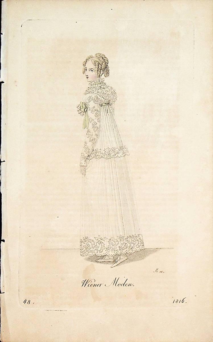 Damenmode 1810 er Jahre ( Aus: Wiener