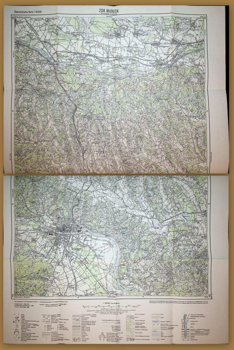 Jugoslawien Karte Früher.Steiermark Karte Das Zvab