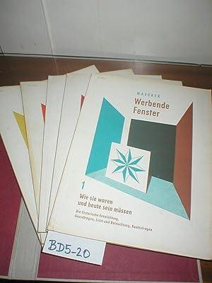 Werbende Fenster 5 Bände 1) Bd. 1.: Maecker, Eugen Johannes