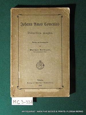 Didactica magna Uebers. und hrsg. von Walther: Comenius, Johann Amos: