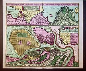 RUSSLAND,RUSSIA, SANKT PETERSBURG, 1730 Titel: Nova et