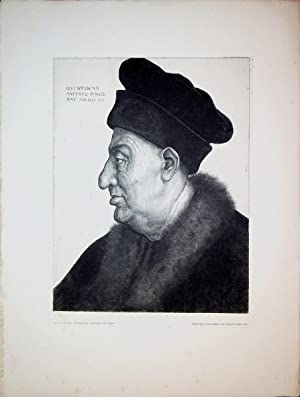Portrait of an Old Man,1517,after the painting: HALM, Peter von