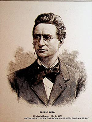 LOEWE, Ludwig Loewe (1837-1886), deutscher Politiker und