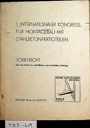 MONTAGEBAU- II. Internationaler Kongress für Montagebau mit