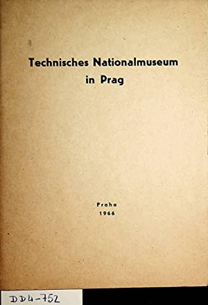 Technisches Nationalmuseum in Prag: Jilek, Frantisek ;