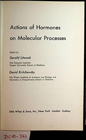 Actions of Hormones on Molecular Processes.
