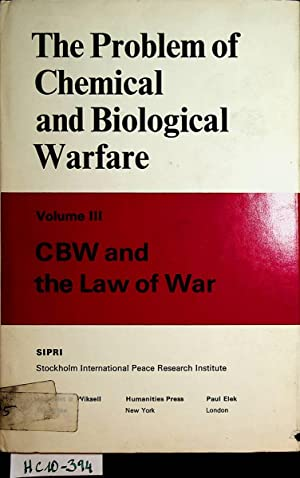 The Problem of Chemical and Biological Warfare,