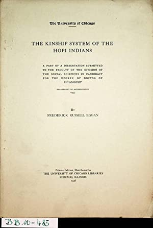 The kinship system of the Hopi Indians. Part of Chicago, Diss., 1933