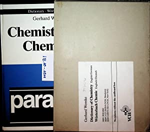 Dictionary of chemistry : English/German = Wörterbuch Chemie