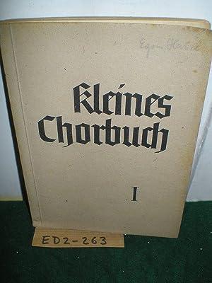 Kleines Chorbuch zu deutschen Volks- und Soldatenliedern.: Strube, Adolf Hrsg.: