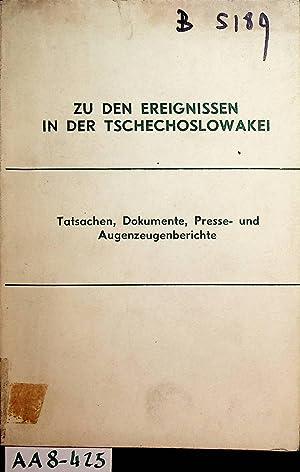 PRAGER FRÜHLING - Zu den Ereignissen in