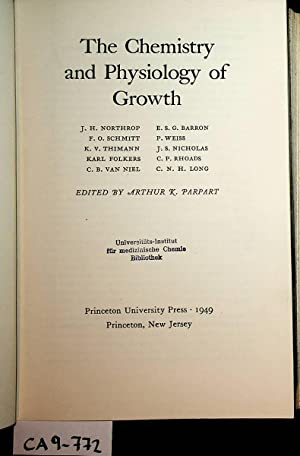The Chemistry and Physiology of Growth.