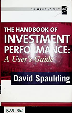 The handbook of investment performance : a user's guide.
