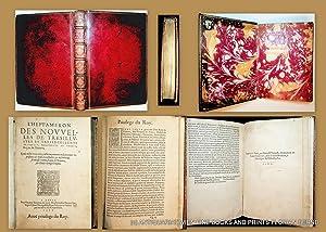L'heptameron des nouvelles de tresillustre et tresexcellente: Marguerite d'Angoulême (1492-1549