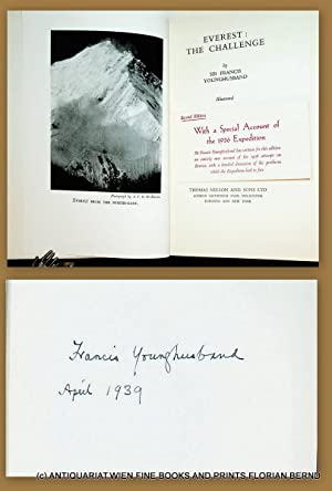 Everest: the Challenge. (Second edition. With a special account of the 1936 expedition.).
