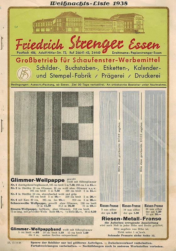 kalender 1938 - ZVAB