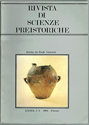 Rivista di scienze preistoriche. Anno XXXIX, 1-2: Graziosi, Paolo (Hg.)