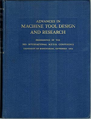 Advances in Machine Tool Design and Research.: Tobias, S. A.;