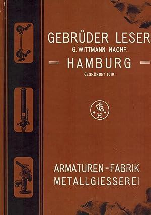 1818 - 1993. 175 Jahre Gebr. Leser, G. Wittmann Nachf. Armaturenfabrik Hamburg & Hohenwestedt. ...