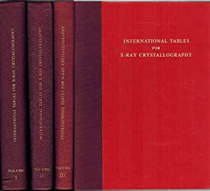 International Tables for X-Ray Crystallography. Published for