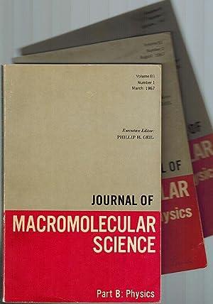 Journal of Macromolecular Science. Part B: Physics.: Geil, Phillip H.