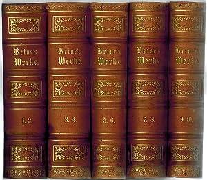 Heinrich Heine's sämmtliche Werke. Rechtmäßige Original-Ausgabe. [1+2]: Heine, Heinrich