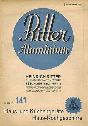 Küchengeräte Liste ritter aluminium liste nr 141 haus und küchengeräte haus