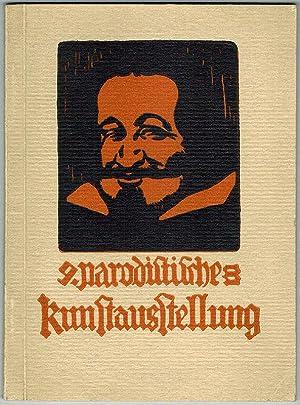 Hochoffizieller, reich illustrierter Katalog der IX. parodistischen: Fritzl; Gustl; Ottl;