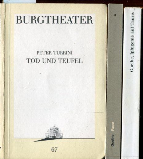 1.Iphigenie auf Tauris. Ein Schauspiel. Programmbuch Nr.30.: Goethe,Johann Wolfgang von