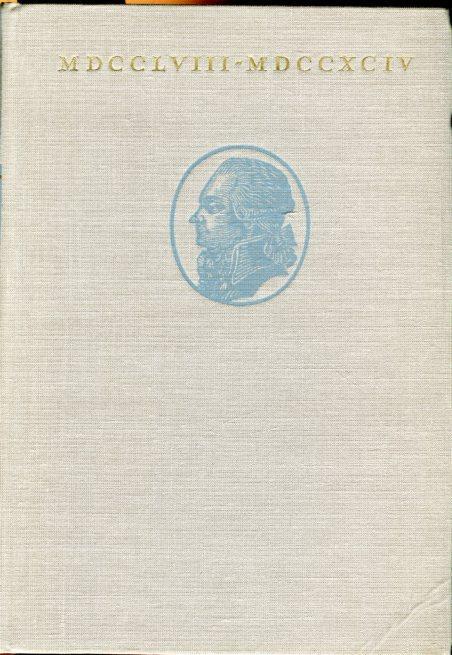 Maximilien Robespierre 1758 - 1794. Vorwort Georges: Markov, Walter (Hg.)