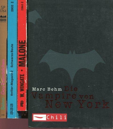 1.Wingate, William :Malone. 2.Hrsg. Klugmann/Mathews : Schwarze: Behm, Marc (u.a.)