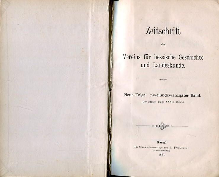 Geschichte der Stadt Lichtenau in Hessen und: Siegel, G.