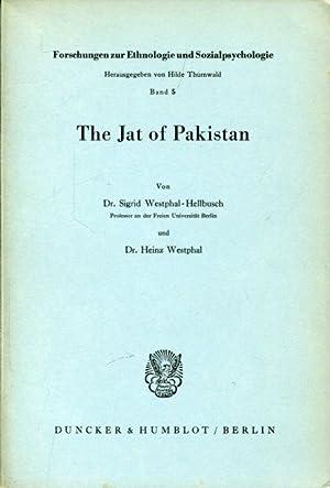 The Jat of Pakistan.: Westphal-Hellbusch, Sigirid /