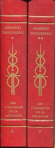 Clinique Medicale de L`Hotel-Dieu de Paris. Band I und II.: Trousseau, Armand