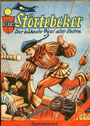 Klaus Störtebeker, der kühnste Pirat aller Zeiten. Nr. 2-6 der Heftromanserie (von acht Heften).