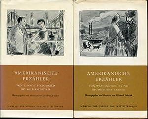 Amerikanische Erzähler. Von F. Scott Fitzgerald bis William Goyen // und von Washington Irvin gbis ...