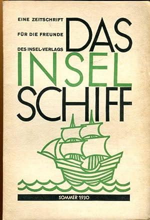 Das Inselschiff. Eine Zeitschrift für Freunde des Insel-Verlages.: Insel Verlag (Hrsg.)