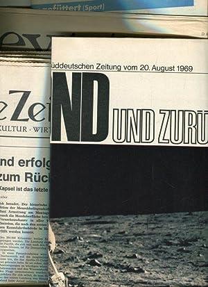 Sammlung / Konvout zur ersten Mondlandung am 21. Juli 1969.