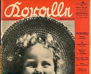 Koralle. Wochenschrift für Unterhaltung, Wissen, Lebensfreude. Heft Nr. 28. Neue Folge. 7. ...
