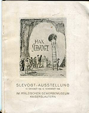 Slevogt-Ausstellung.