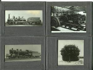Sammlung von 20 Diapositiven (Chrombromsilberplatten der Firma Perutz) mit überwiegend technischen ...