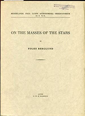 ON THE MASSES OF THE STARS.