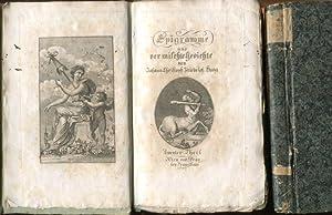 Epigramme und vermischte Gedichte. Erster und zweiter Teil.: Haug, Johann Christoph Friedrich