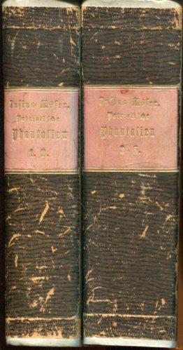 Patriotische Phantasien. (Fünf Theile in zwei Bänden).: Möser, Justus / Voigts, J. W. J. von (Hrsg.)