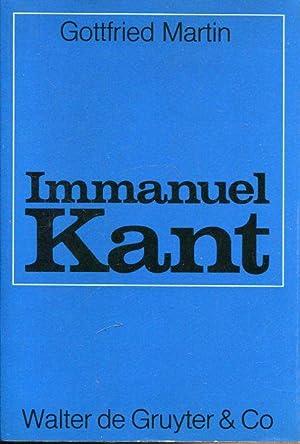 Immanuel Kant. Ontologie und Wissenschaftstheorie.: Martin, Gottfried