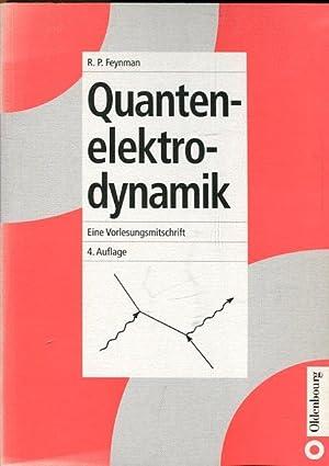 quantenelektrodynamik eine vorlesungsmitschrift